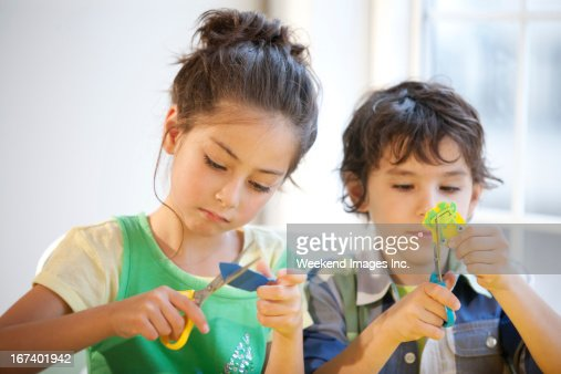 Fun and easy kids craft : Stock Photo