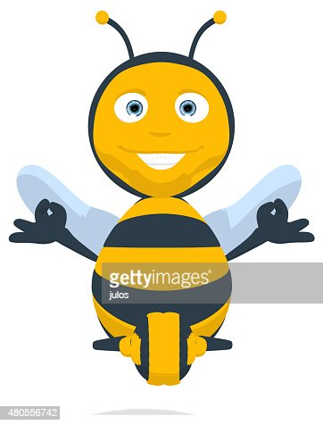 Fun bee : Stock Photo