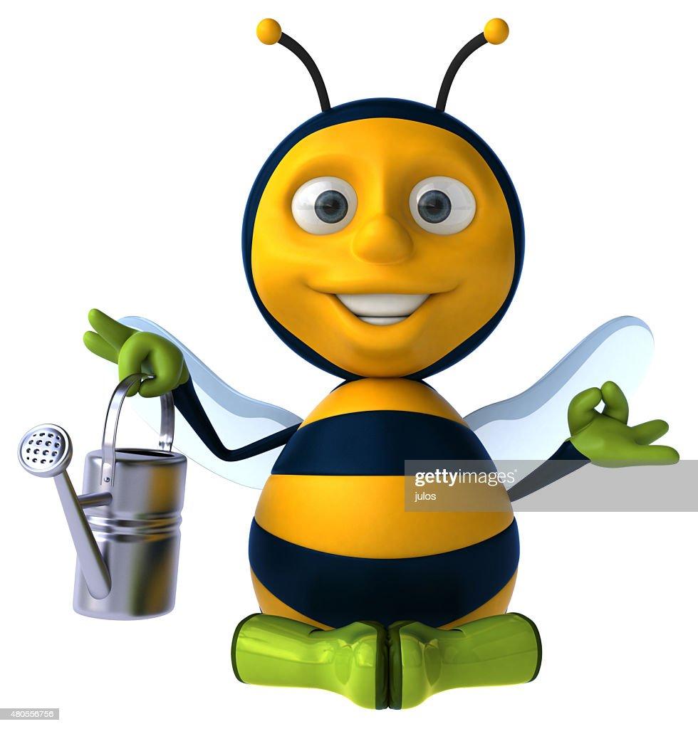 Fun bee : Stock Photo