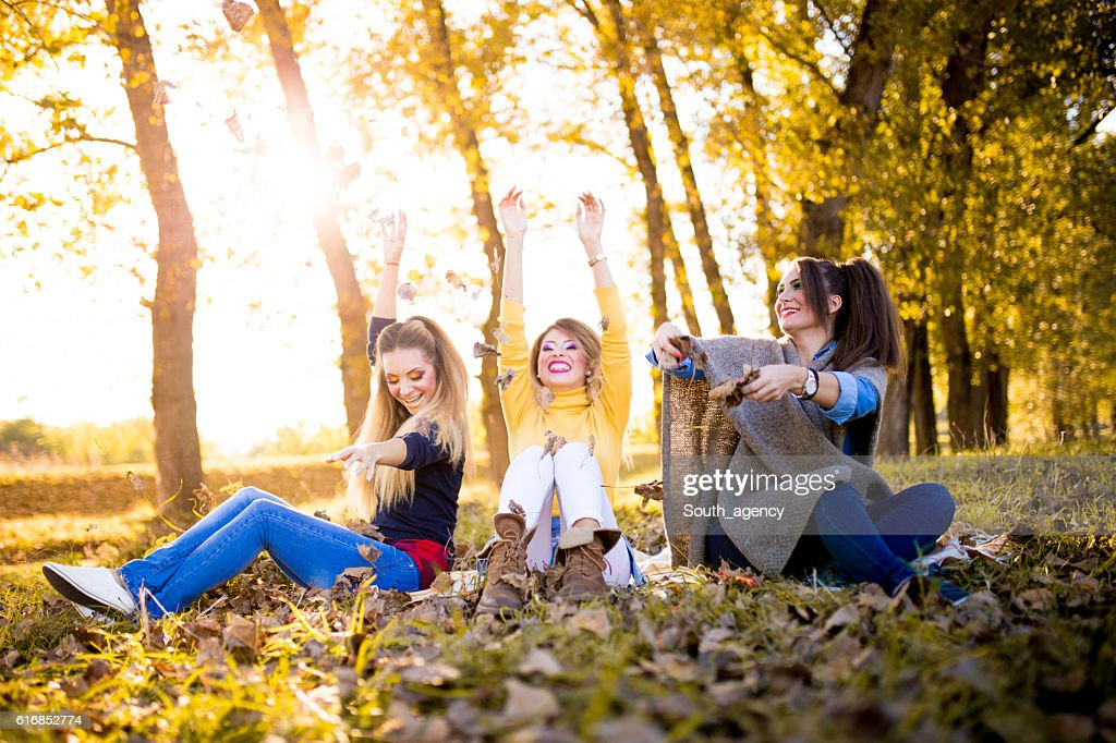 Fun day in park : Stock Photo