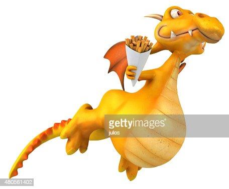 Fun dragon : Stock Photo