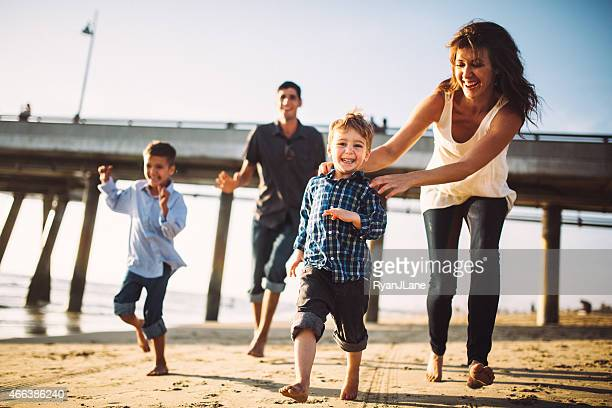 Fun Family at Venice Beach