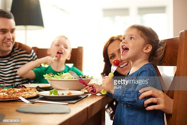 fun family mealtime