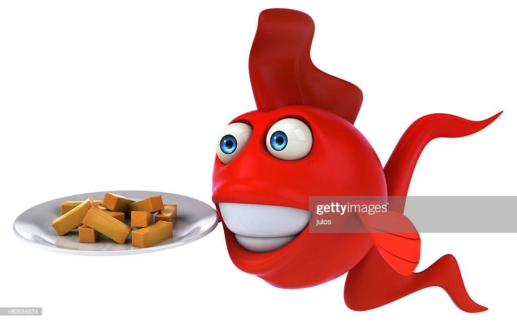 Fun fish : Stock Photo