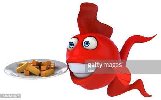 Fun fish : Stock Photo