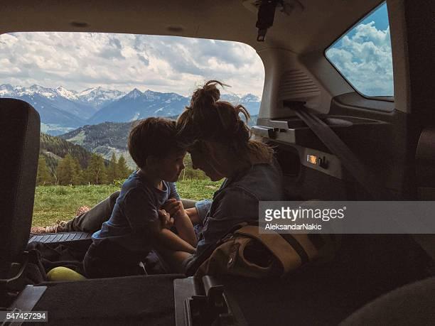 Fun in a car trunk