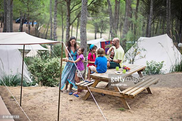 Fun in the camping