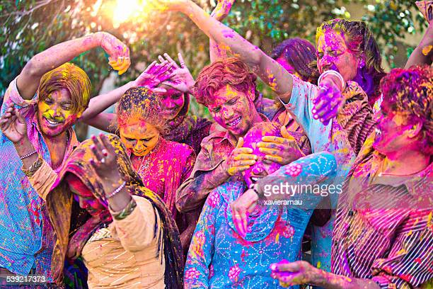 Fun in the Indian holi