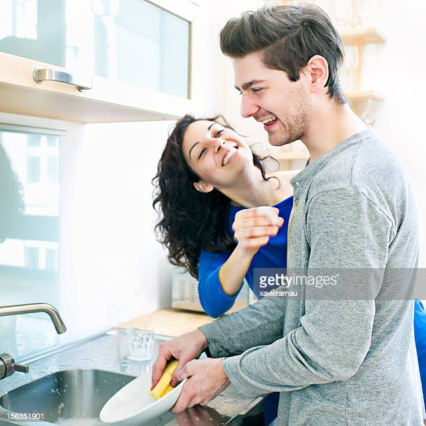 Diversión en la cocina