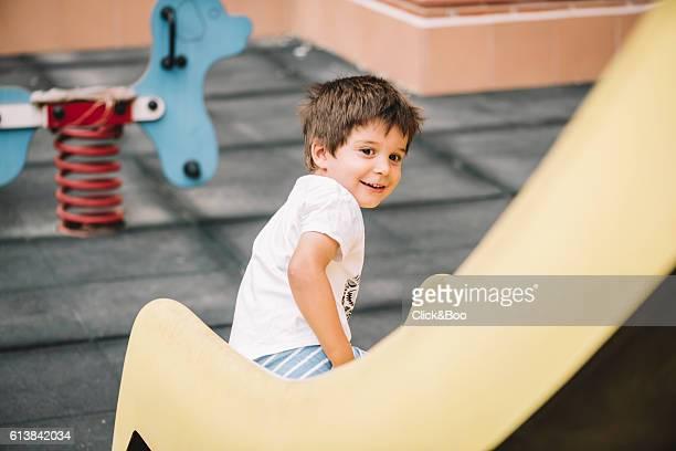 Fun in the slide