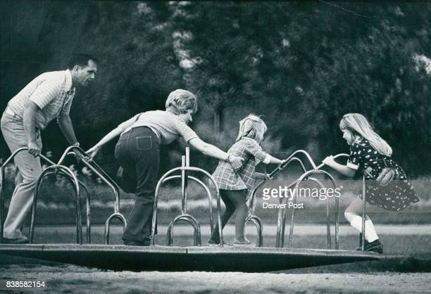 Fun Is A Family Affair On a latesummer outing Tuesday afternoon in City Park Mom Dad and children all boarded the merrygoround for a spin in dizzying...