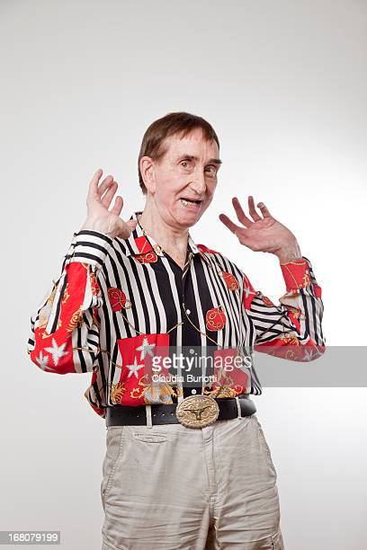 Fun Old Man Dancing