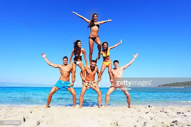 Fun on the beach.