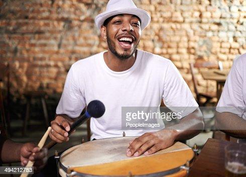 Fun on the drum