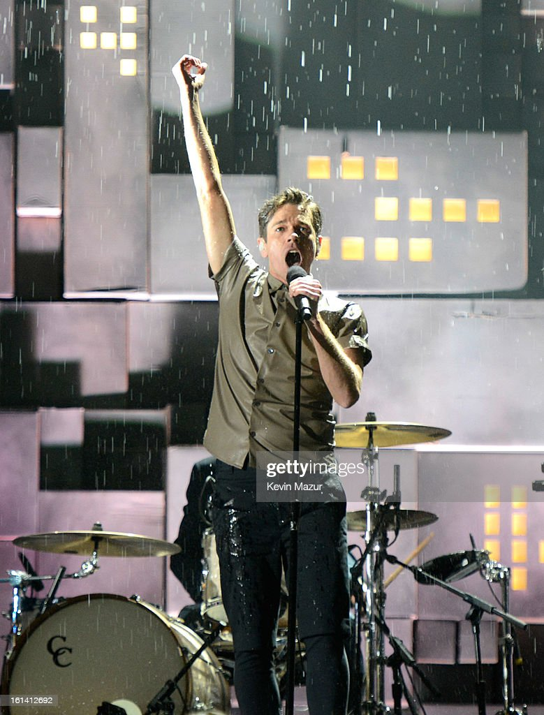 <a gi-track='captionPersonalityLinkClicked' href=/galleries/search?phrase=Fun+-+Band&family=editorial&specificpeople=5352698 ng-click='$event.stopPropagation()'>Fun</a>. performs onstage during the 55th Annual GRAMMY Awards at STAPLES Center on February 10, 2013 in Los Angeles, California.