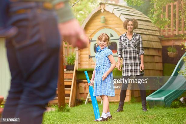 fun play in the garden