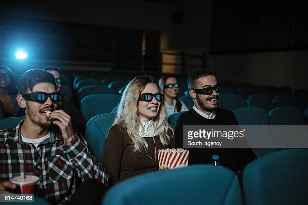 Fun time in cinema