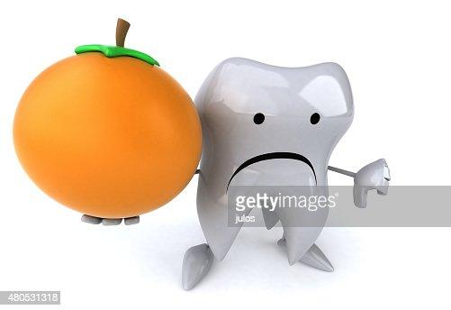 Divertimento dente : Foto stock