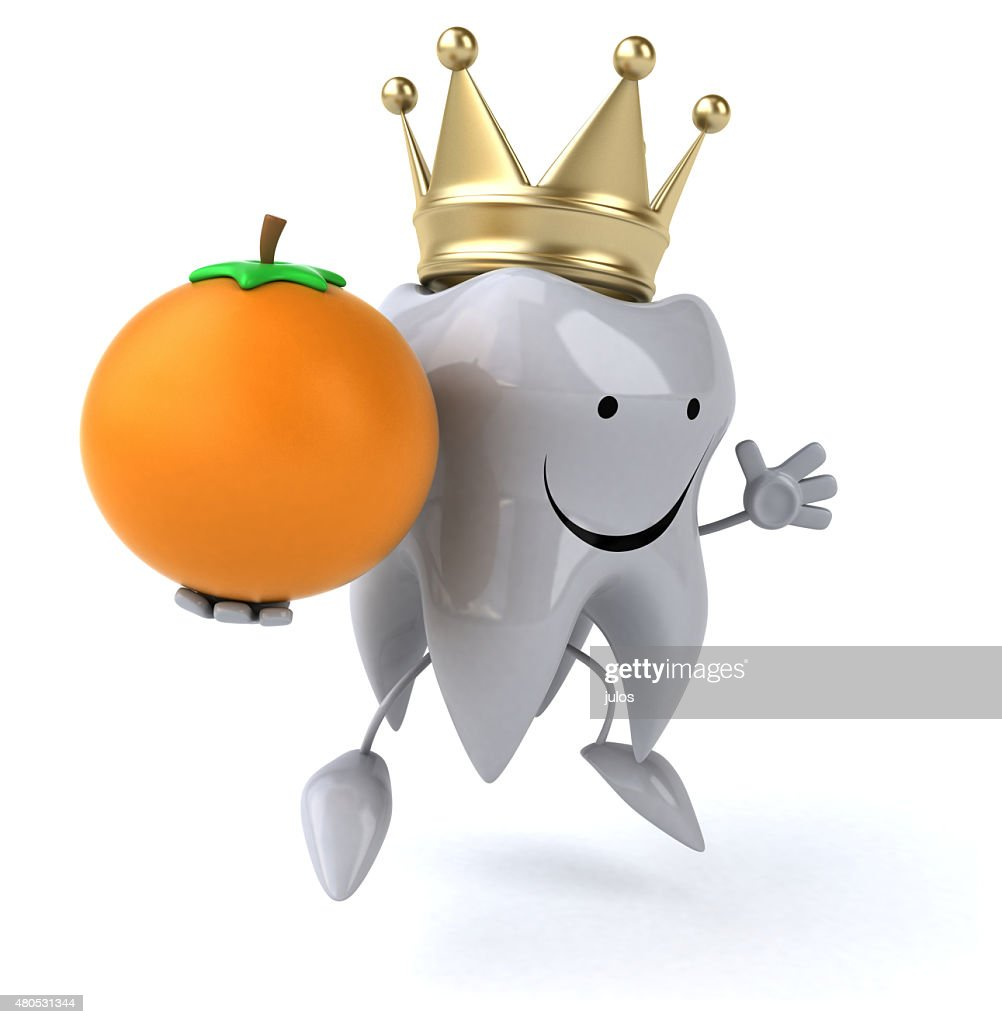 Fun tooth : Bildbanksbilder