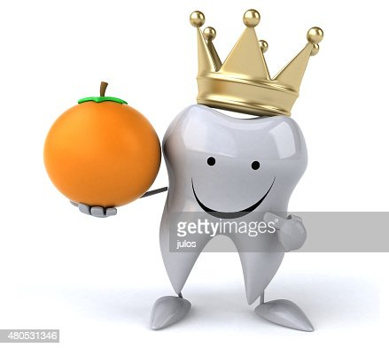 Fun tooth : Stock Photo