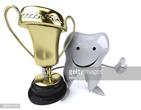 Fun tooth : Stockfoto