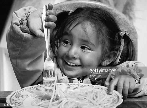 Spaß mit spaghetti