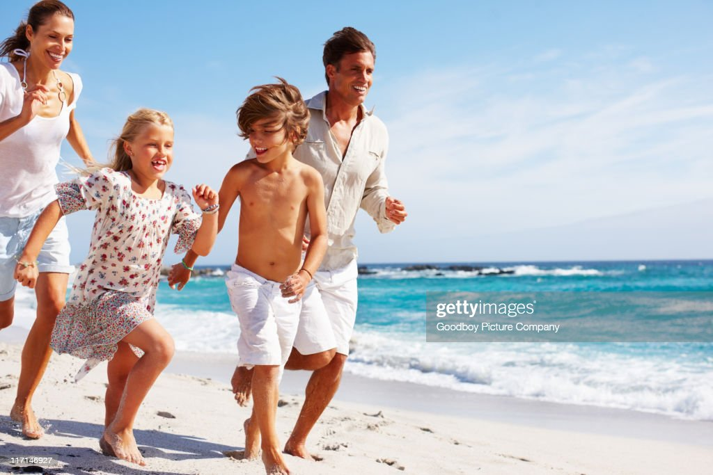 Fun with the family : Stock Photo