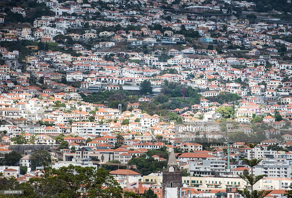 Funchal cityscape : Foto de stock