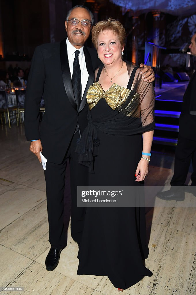 Helenka Pantaleoni Humanitarian Award Edward G Lloyd and President and CEO US Fund for UNICEF Caryl Stern attend 11th Annual UNICEF Snowflake Ball...