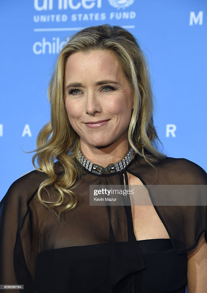 U.S. Fund for UNICEF National Board Member Tea Leoni attends the 12th annual UNICEF Snowflake Ball at Cipriani Wall Street on November 29, 2016 in New York City.