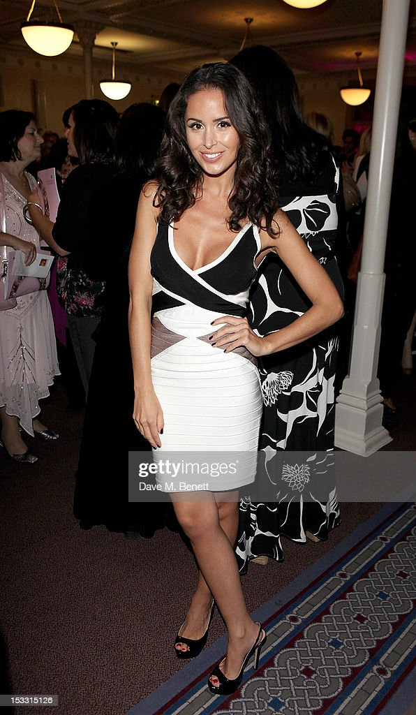 Funda Onal arrives at The Inspiration Awards For Women 2012 at Cadogan Hall on October 3 2012 in London England