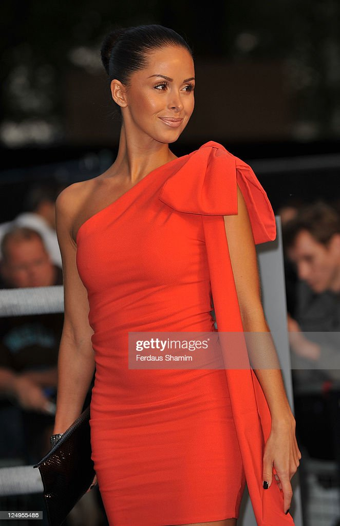 Funda Onal arrives at the UK premiere of Real Steel at Empire Leicester Square on September 14 2011 in London England