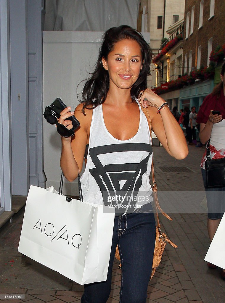 Funda Onal attending the AQAQ launch party on July 23 2013 in London England