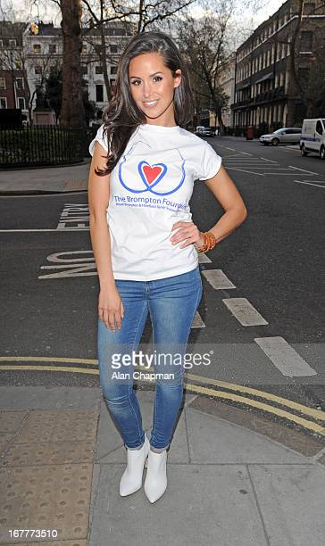 Funda Onal attends fundraiser for 'The Brompton Fountain on April 29 2013 in London England