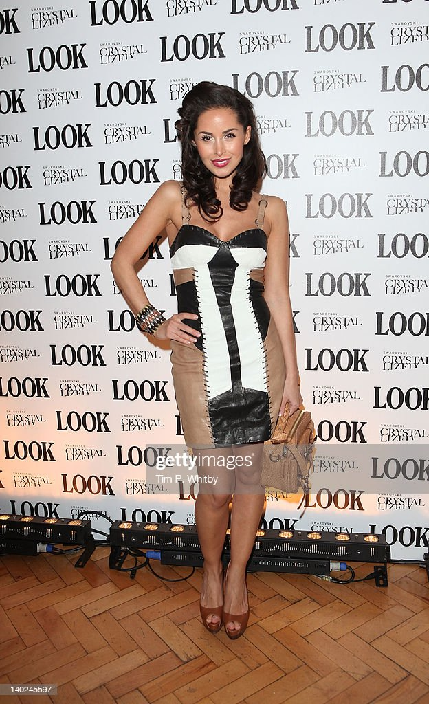 Funda Onal attends the 5th anniversary party of LOOK magazine at One Marylebone on March 1, 2012 in London, England.