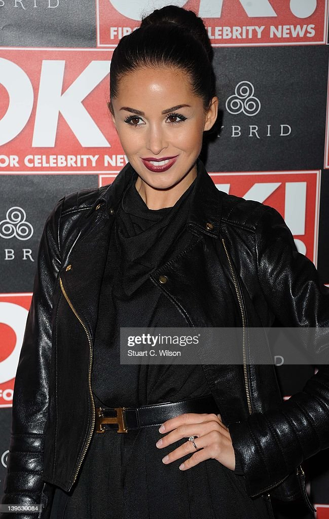 Funda Onal attends the Hybrid and OK! Magazine London Fashion Week Party at Jewel Bar on February 22, 2012 in London, England.