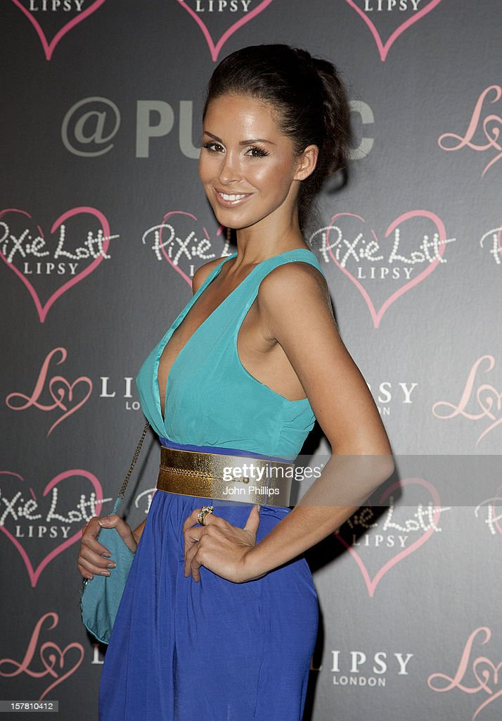 Funda Onal Attends The Launch Party For Her New Lipsy Collection, At Public In Chelsea, West London.