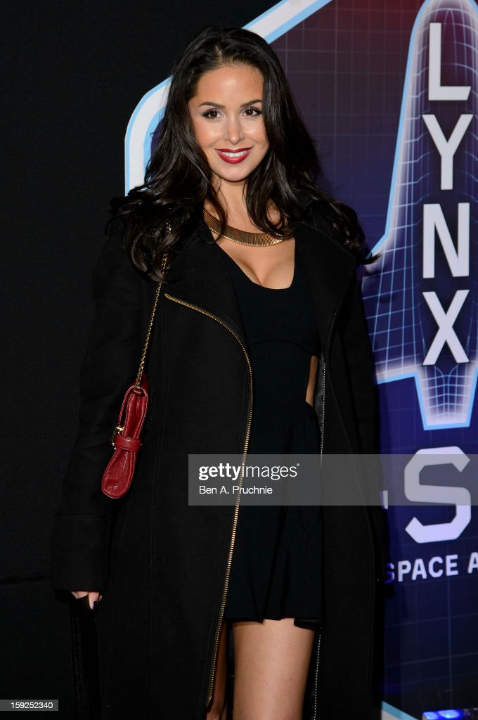 Funda Onal attends the Lynx L.S.A launch event at Wimbledon Studios on January 10, 2013 in London, England.