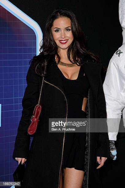Funda Onal attends the Lynx LSA launch event at Wimbledon Studios on January 10 2013 in London England