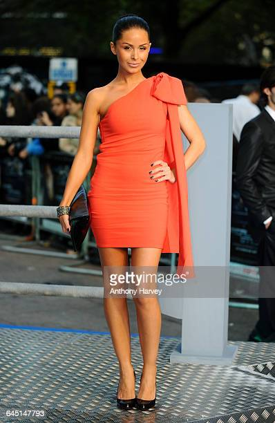 Funda Onal attends the Real Steel Premiere on September 14 2011 at the Empire Cinema Leicester Square in London
