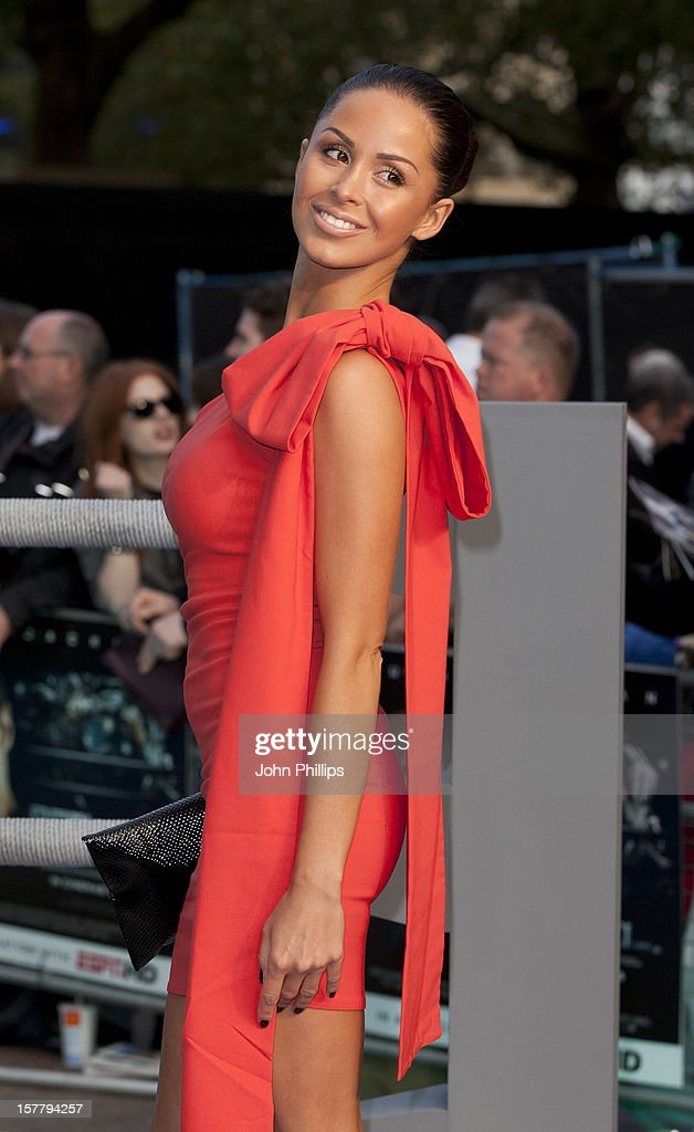 Funda Onal Attends The Uk Premiere Of 'Real Steel' At Empire Leicester Square.