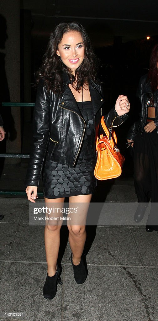 Funda Onal seen attending the Hair Awards 2012 at the Sky Bar Millbank Tower on February 27 2012 in London England