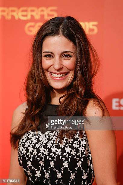 Funda Vanroy attends the 21th Annual Jose Carreras Gala at Hotel Estrel on December 17 2015 in Berlin Germany