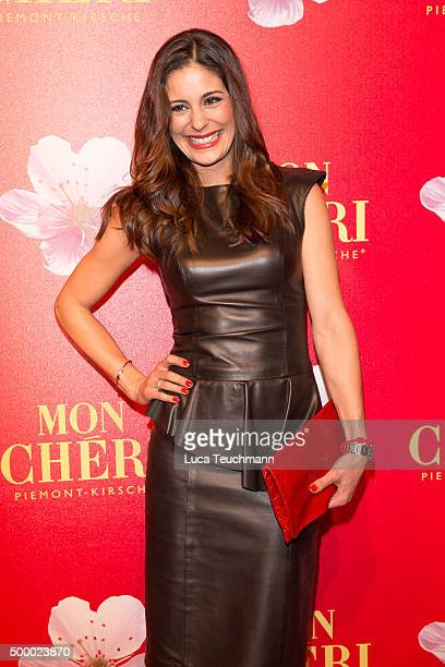 Funda Vanroy attends the Mon Cheri Barbara Tag 2015 at Postpalast on December 4 2015 in Munich Germany