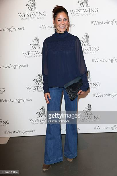 Funda Vanroy during the 5th anniversary of Westwing on October 12 2016 in Munich Germany