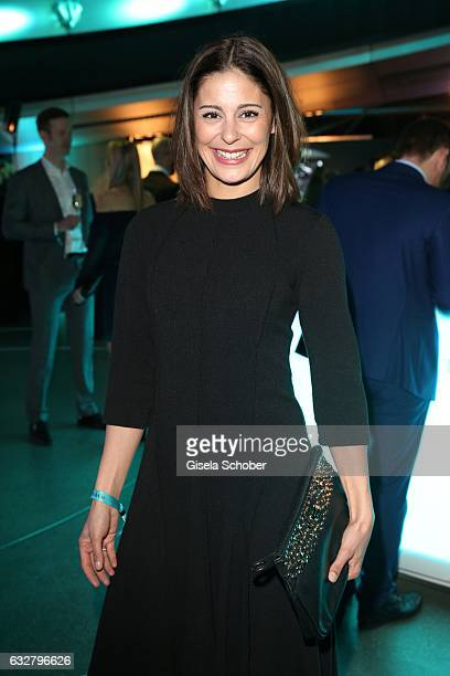 Funda Vanroy during the 'A New York Minute' party hosted by Tiffany Co at BMW World on January 26 2017 in Munich Germany