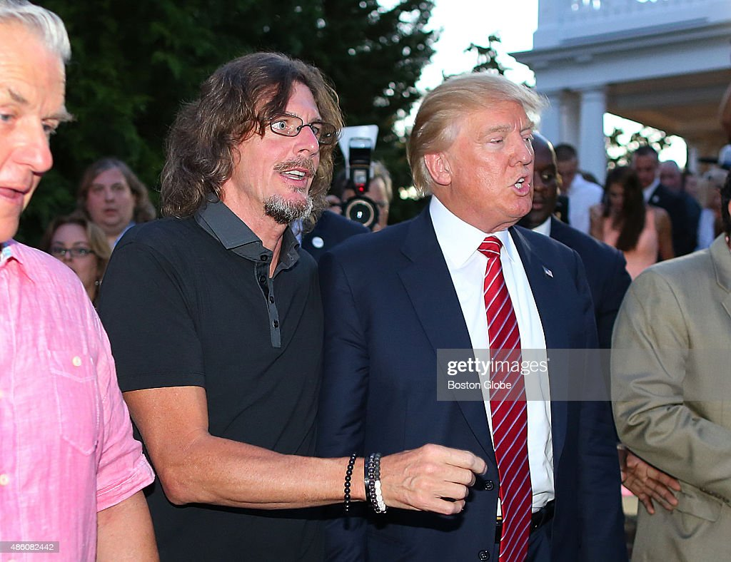 fundraiser for donald trump campaign at boch estate pictures