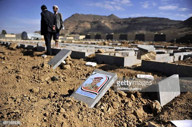 A funeral is held for the 10 of 20 soldiers killed in Hadramawt by an attack held by Ansar alSharia Yemenbased umbrella organization of AlQaeda at...