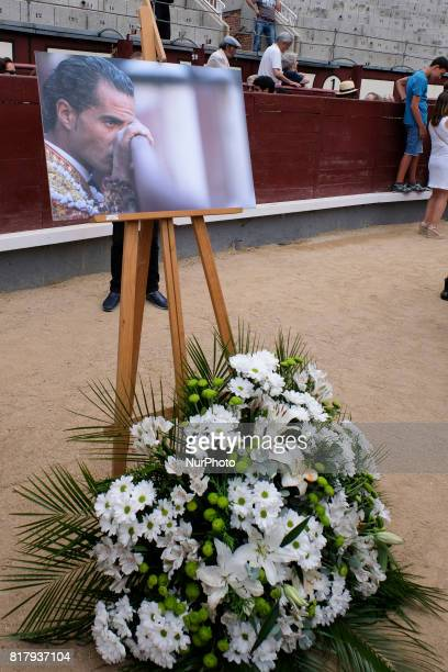 funeral mass for Spanish bullfighter Ivan Fandiño who died after being gored by a bull on last June 17 2017 at 'Las Ventas' bullring in Madrid...