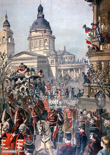 Funeral of Lajos Kossuth Budapest 21st March 1894 Lajos 'Louis' Kossuth was a Hungarian lawyer politician who became RegentPresident of the Kingdom...